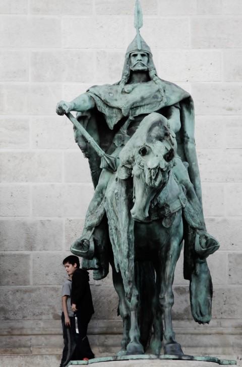 budapeszt posąg