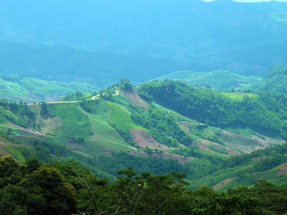 polnocna tajlandia drogi gory w polnocnej tajlandii