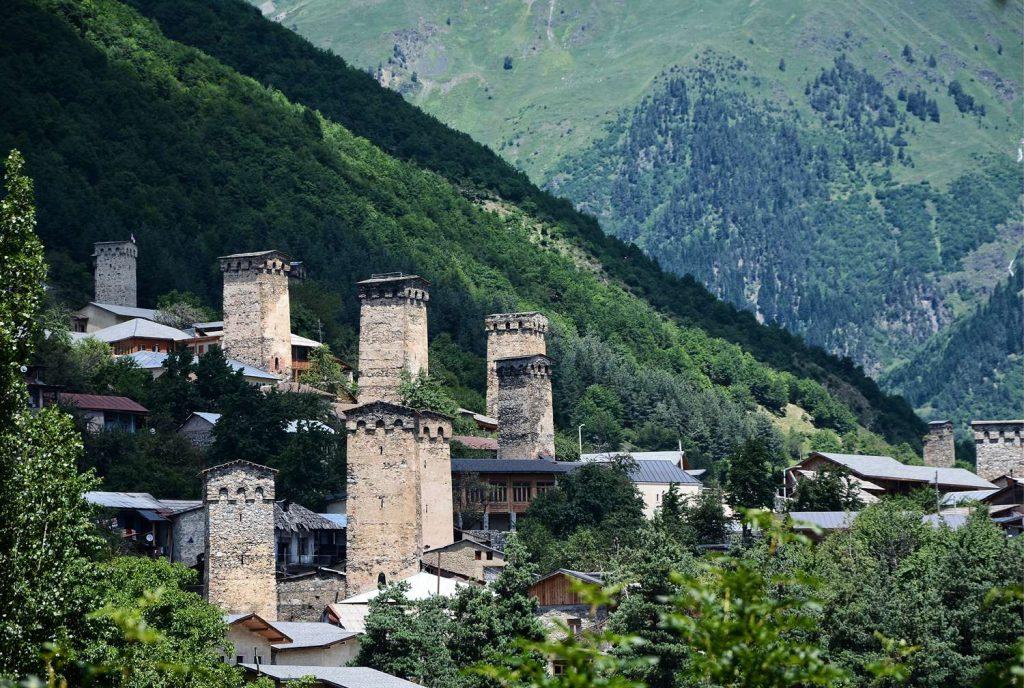 wieże gruzja