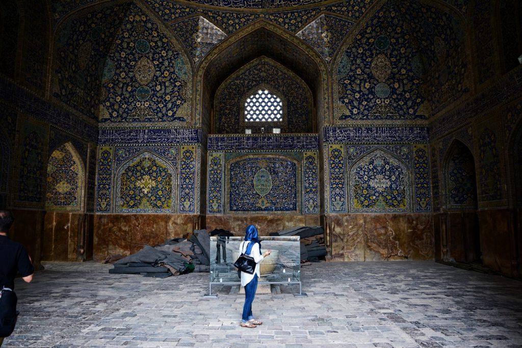 jak ubierac sie w iranie kobieta w Iranie