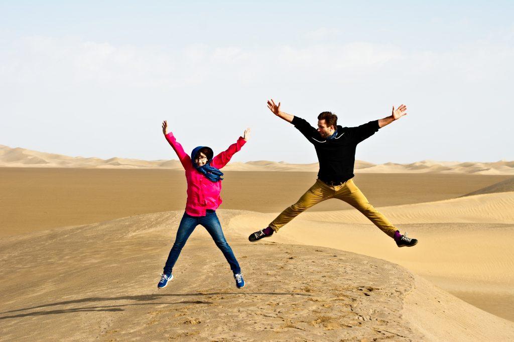 Iran pustynia z dala od biura