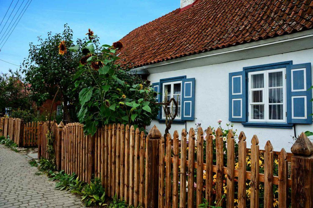 tykocin rynek drewniane domy podlaskie domy