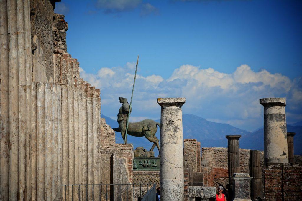 Pompeje rzeźby
