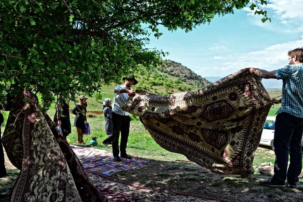 iran piknik rodzinny w gorach