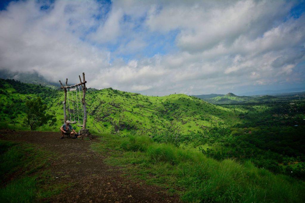 Pemuteran wzgórza świątynia na szczycie