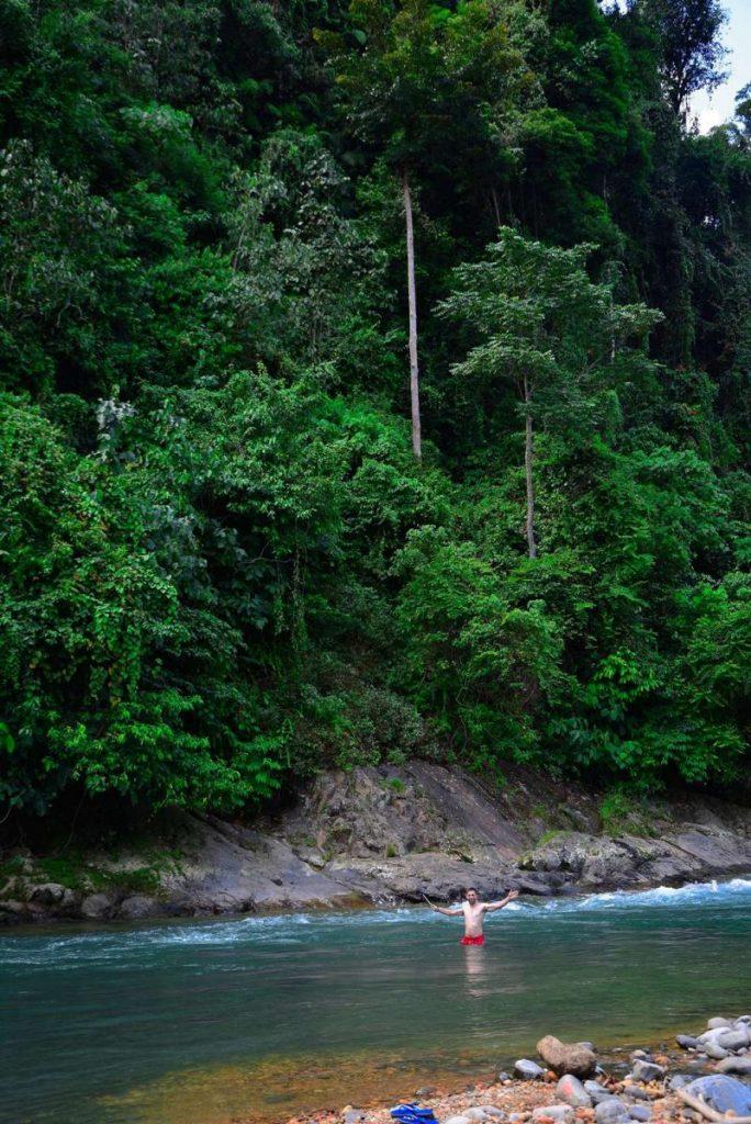 pora deszczowa sumatra kiedy na trekking w dżungli z orangutanami