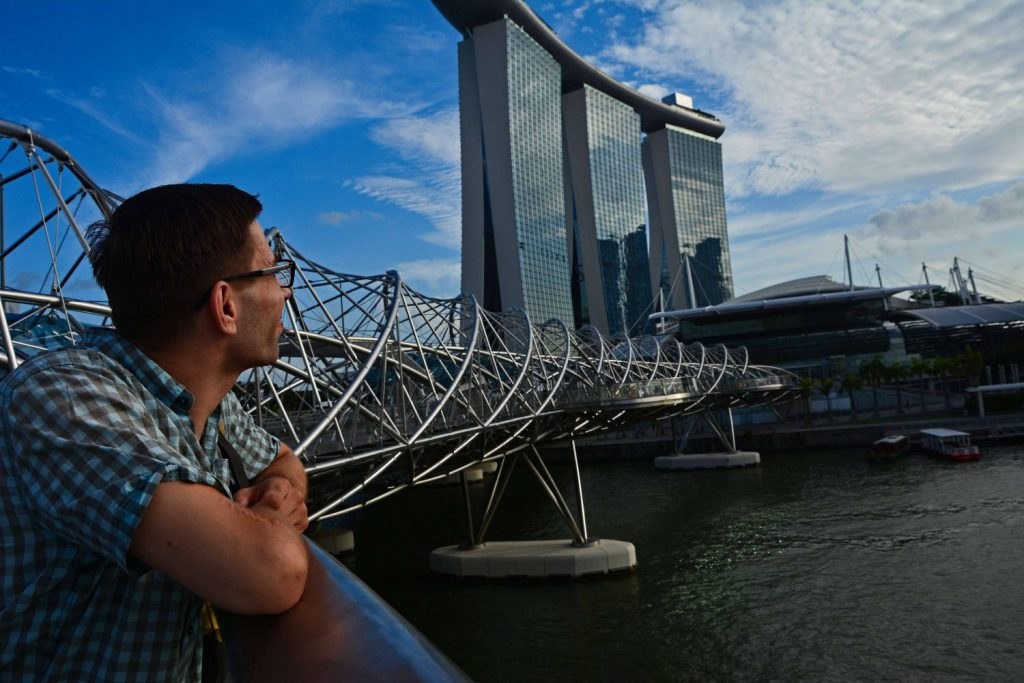 singapur miasto wierzowce zakupy drona elktronika w singapurze