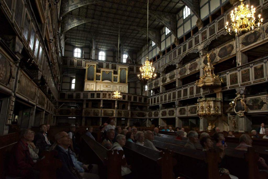 kościół pokoju w jaworze ewangelicki drewniany kościół dolny śląsk