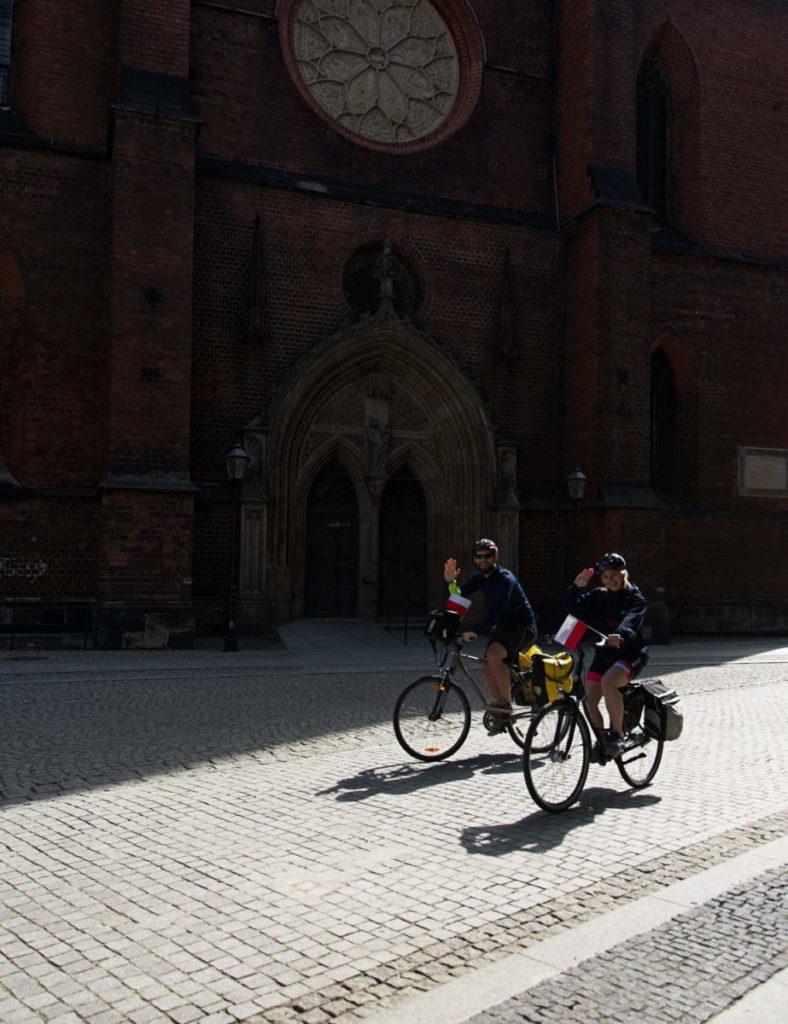 legnica rajd rowerowy dzien flagi legnica rowerem dolny slask