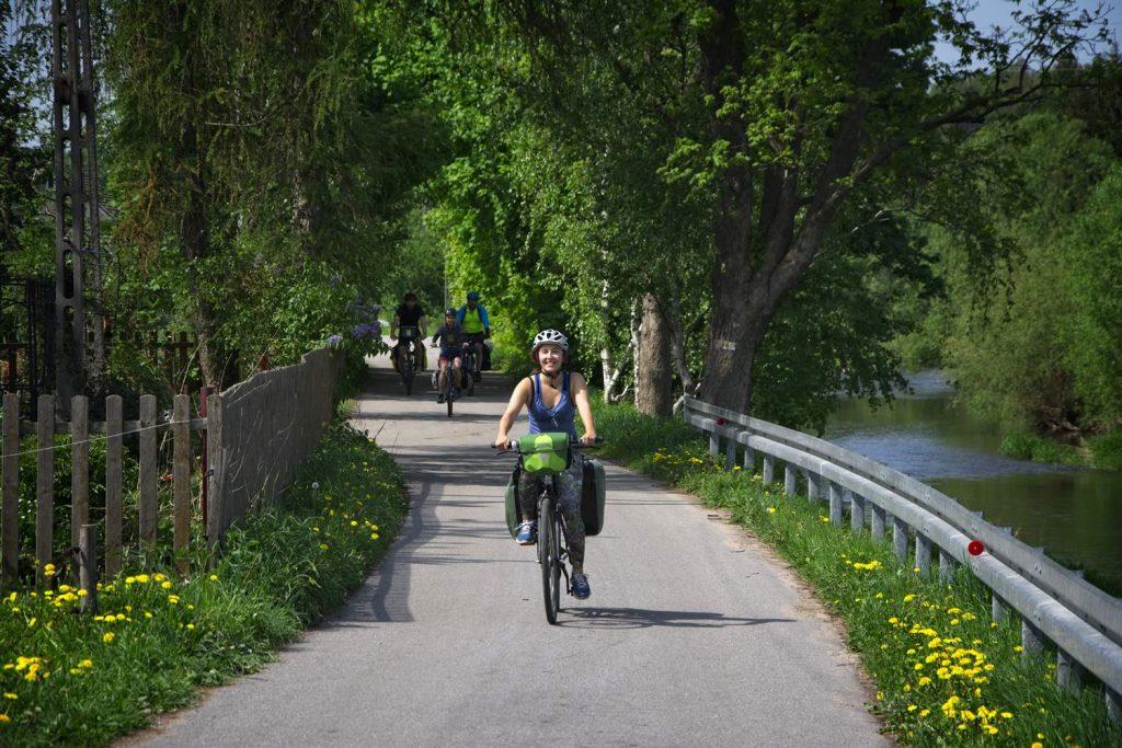 dolny slask rowerem Jelenia Gora Miedzianka janowice wielkie