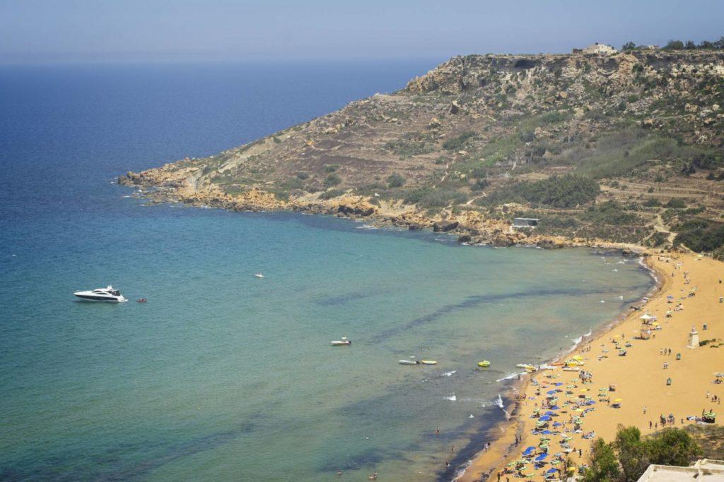 czerwona plaza gozo ramla bay malta wakacje na malcie