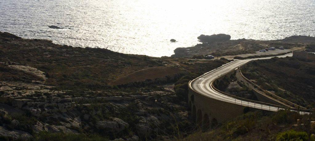 gozo droga do dwejry transport na malcie