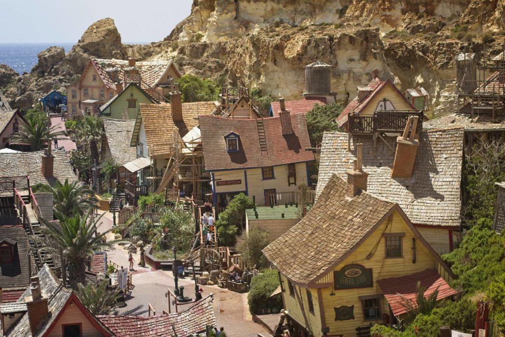 wioska popaja popeye malta wakacje na malcie atrakcje dla dzieci