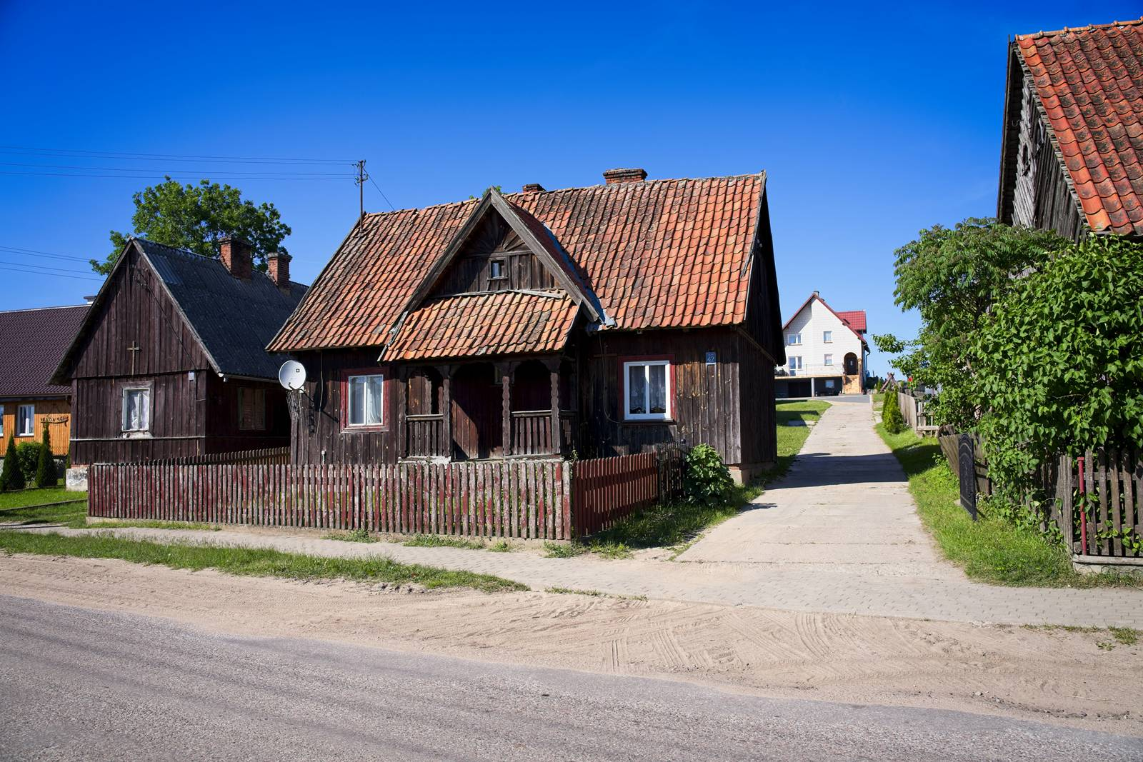 kurpie klon mazury stare domy i nowe domy