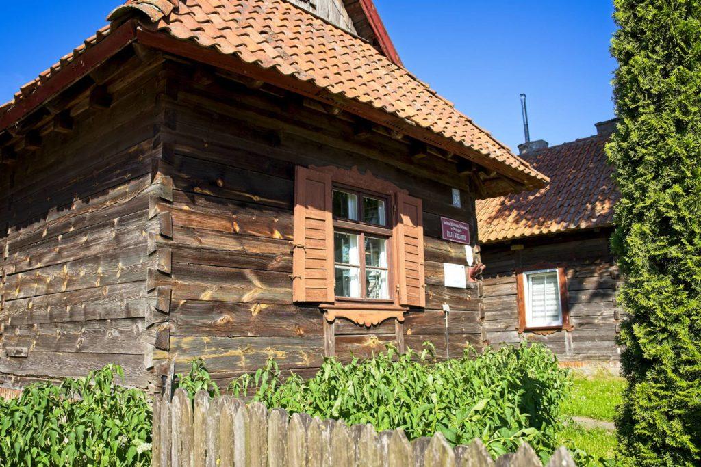klon biblioteka mazurskie chaty