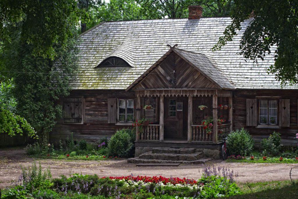 kurpie drewniane domy nowogrod