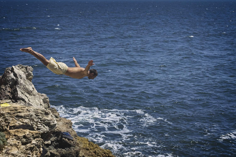 tyulenovo skoki do wody ze skal bulgaria gdzie nad morze w bulgarii