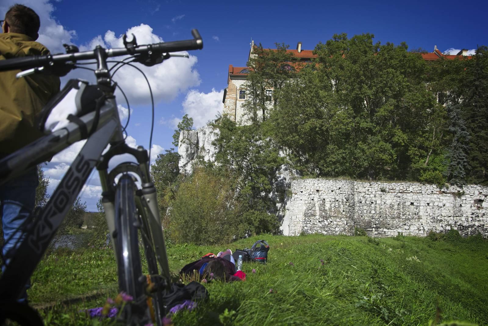 velo malopolska tynies trasa rowerowa wzdluz wisly