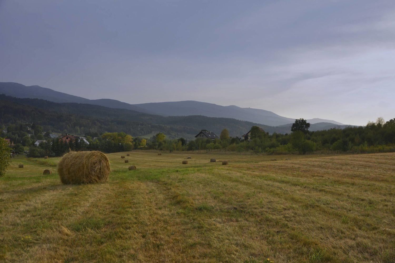 karkonosze zachod slona na rowerze sciezki rowerowe dolny slask jelenia gora sciezki rowerowe dolina palacow i ogrodow