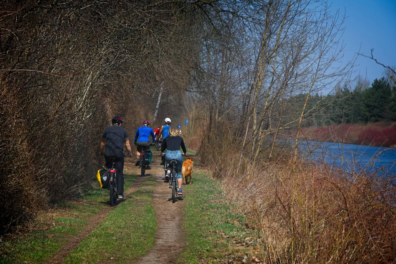 gdzie na rower w okolicach warszawy trasa rowerowa zalew zegrzynski