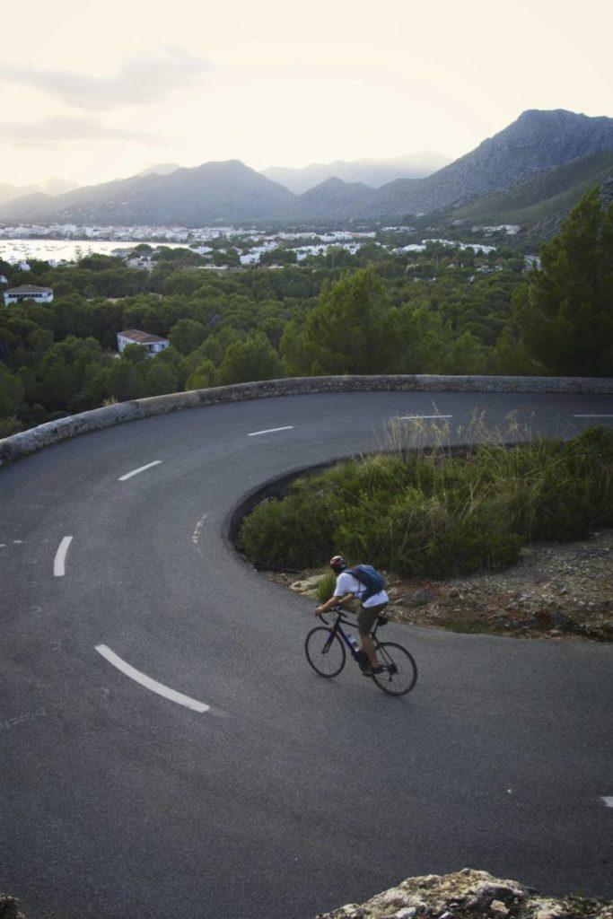 formentor rowerem majorka z rowerem wyjazd rowerowy na majorke trasy rowerowe na majorce