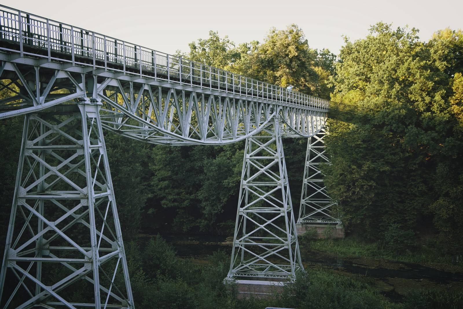 most w koronowie waskotorowka bydgoszcz koronowo trasa rowerowa koronowo