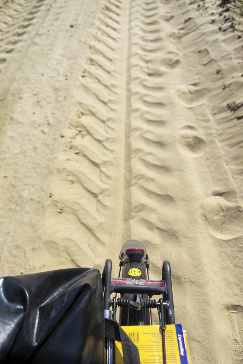 rowerem przez pustynie piaskowe trasy w polsce