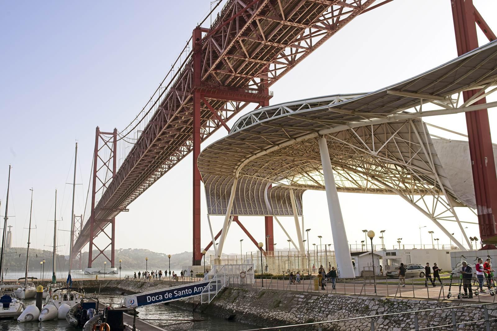 most w lizbonie widok z dolu co zobaczyc w lizbonie ciekawe miejsca bulwary