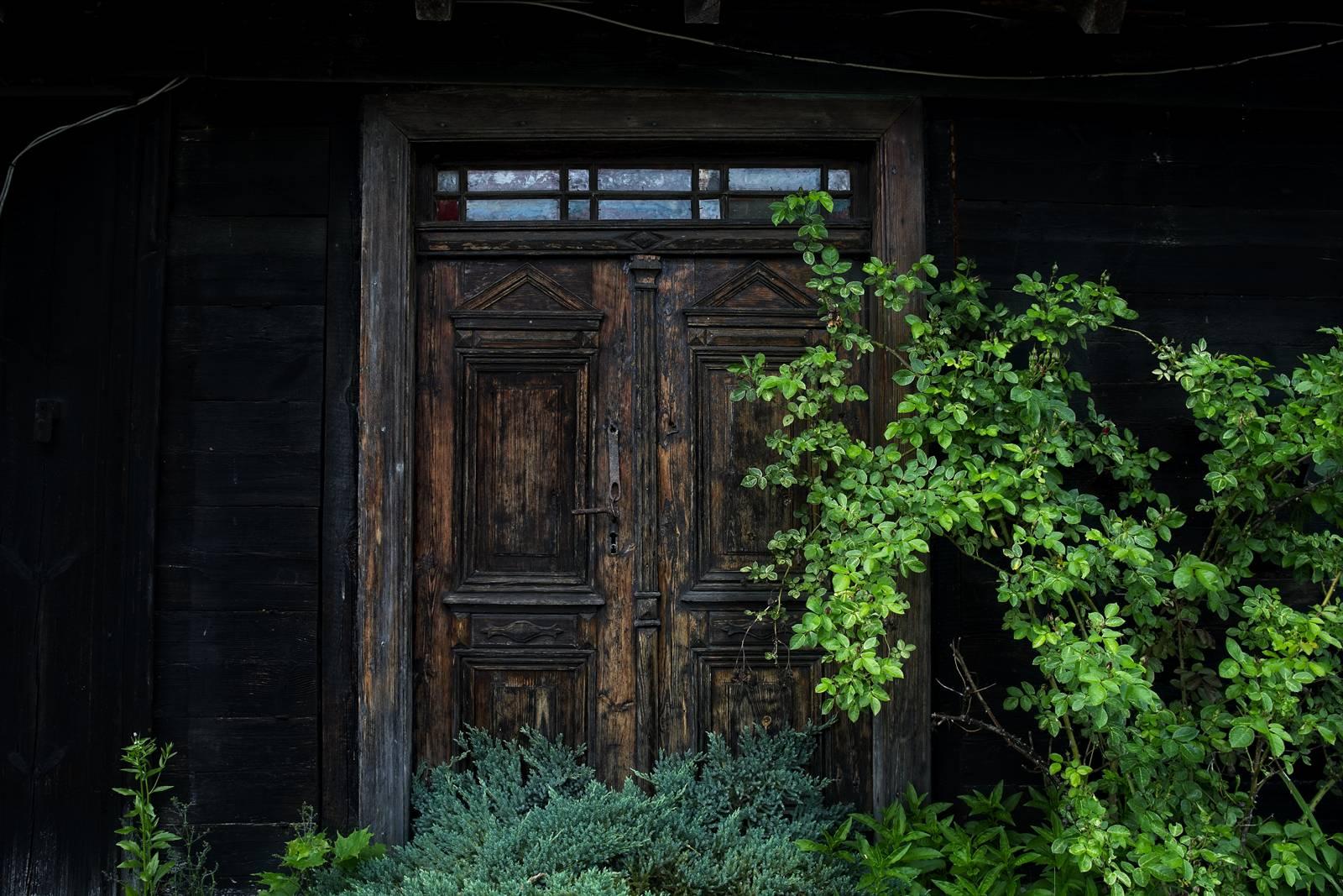 karwica stare mazurskie domy drewniane domy mazury