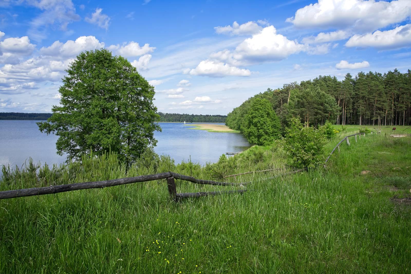mazury karwica camping na dziko jezioro nidzkie