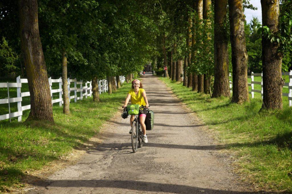mazury rowerem z olsztyna do gizycka popielno