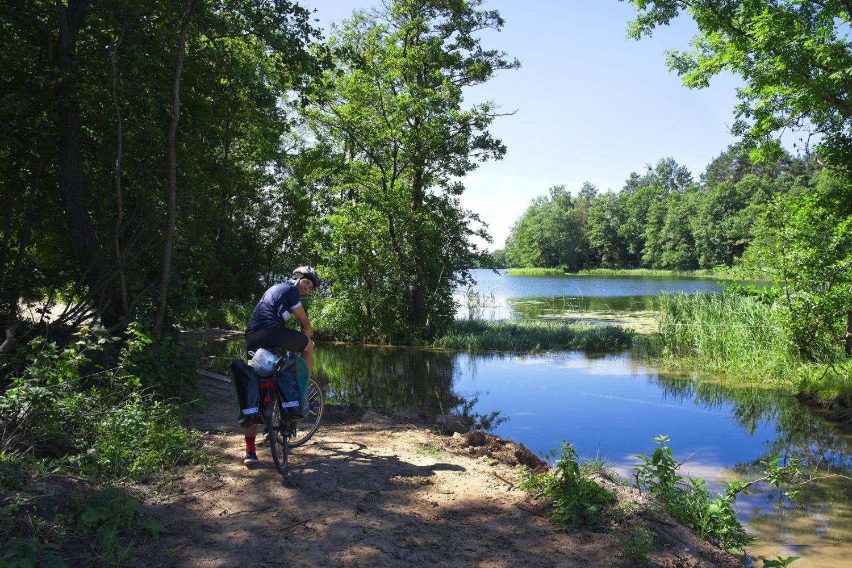 rowerem po mazurach okolice mikołajek faszcze z olsztyna do gizycka