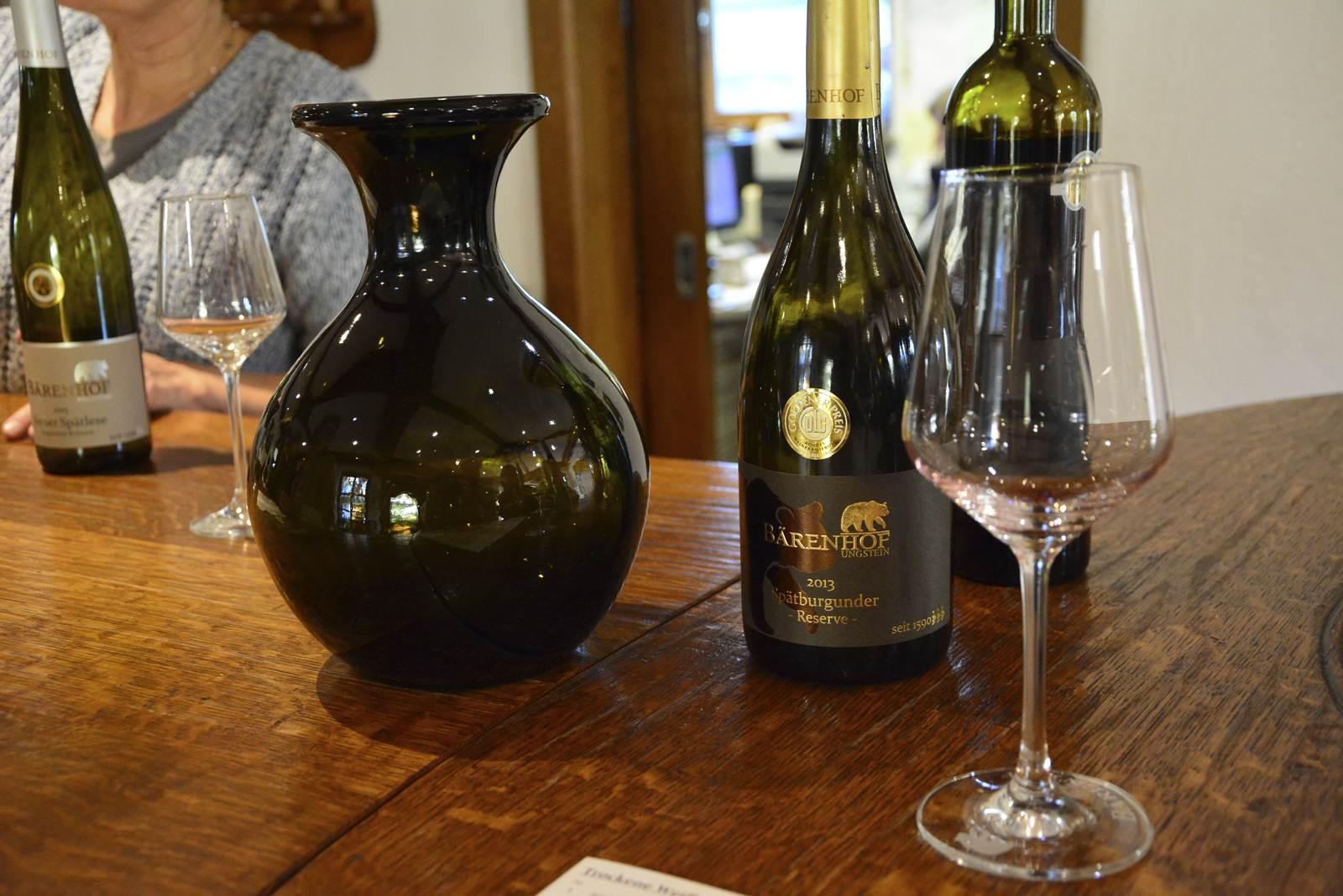 barenhof wino niemieckie winiarnie gdzie winoturystyka w niemczech