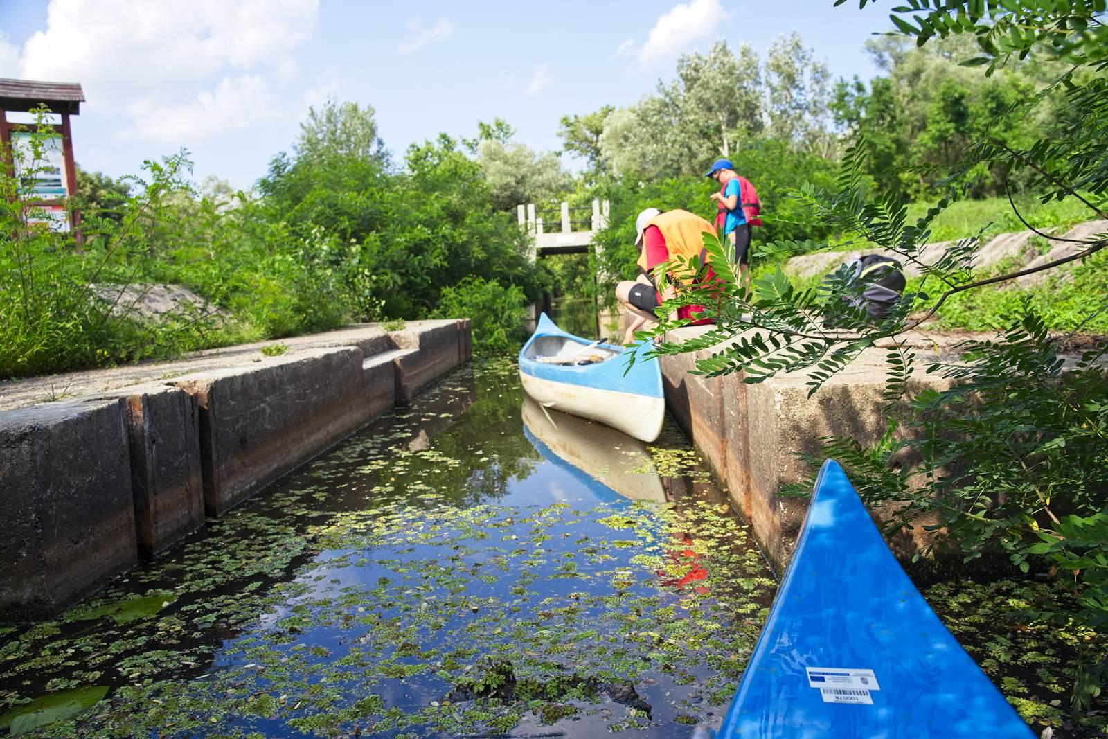bodrogzug kanały spływ kajakowy tokaj gdzie wypozyczyc kajak