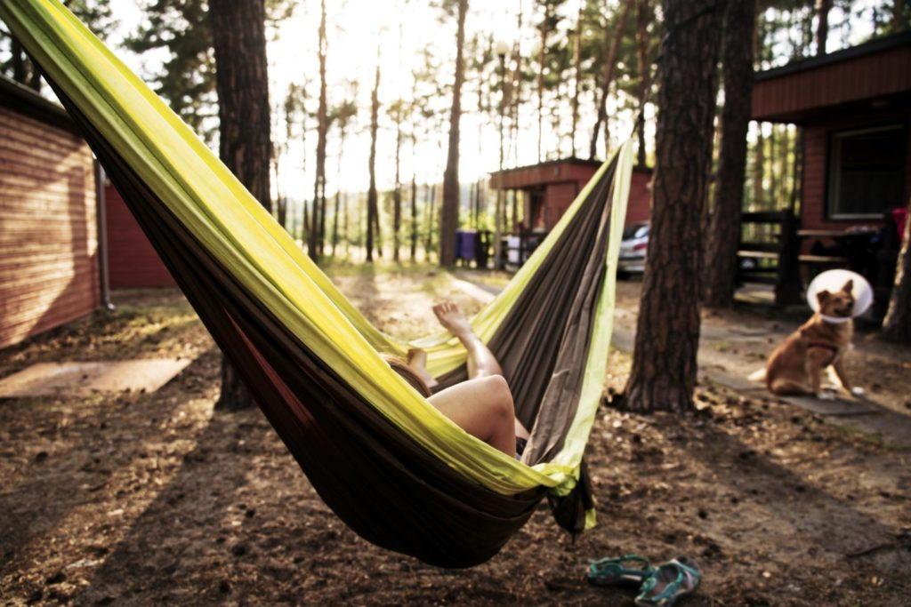 spanie pod namiotem blog podrozniczy polska biwak