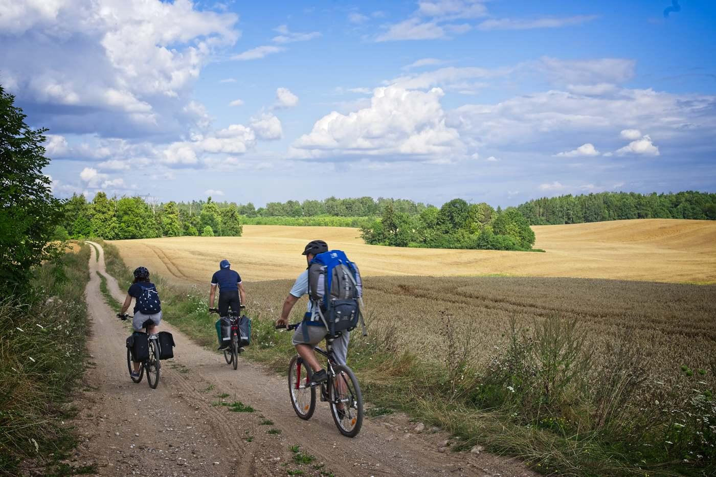 olsztyn ostroda trasa rowerowa kwasne jablko plecak na rower