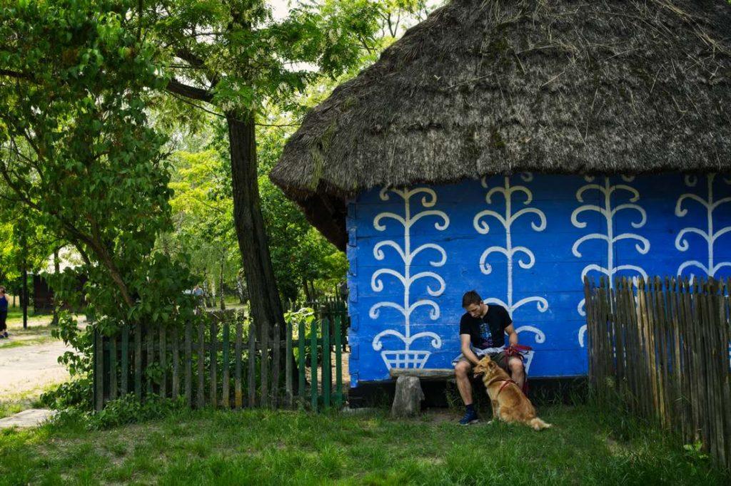 skansen w lowiczu maurzyce co robic w lowiczu domy z niebieskimi scianami