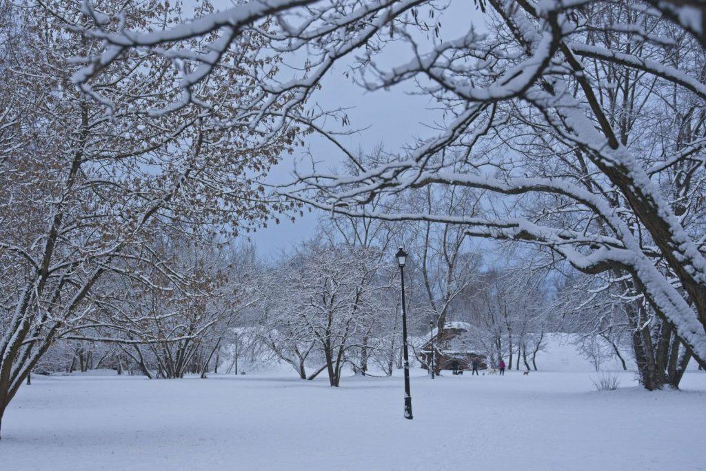 fort bema zima snieg