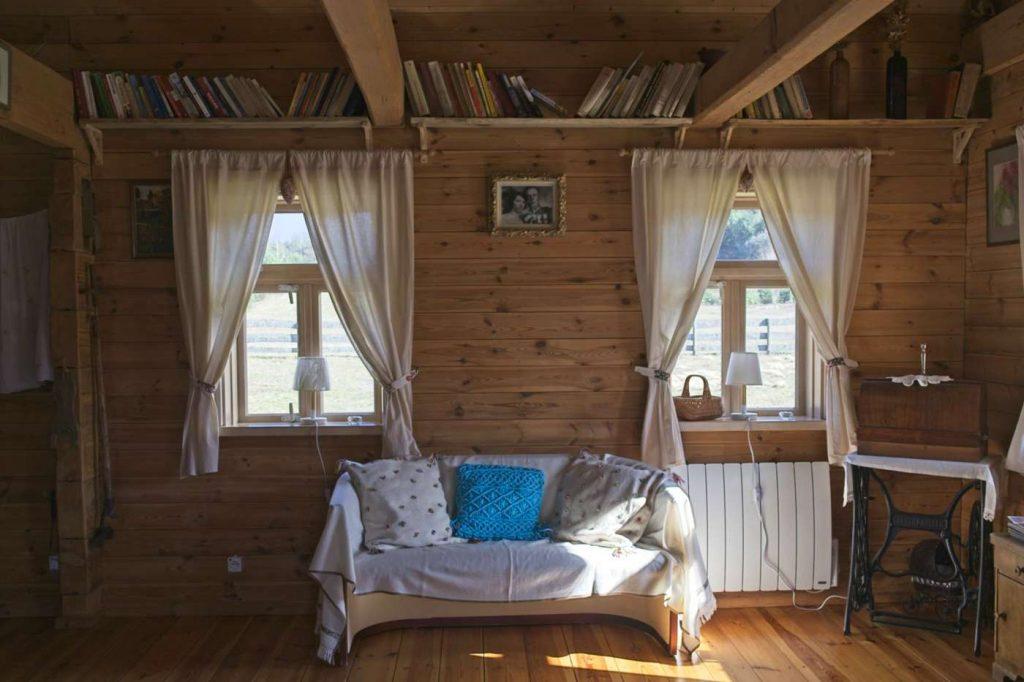 domek drewniany tocznabiel kurpie